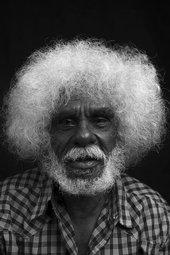 John Mawurndjul, Maningrida, 2018, photograph: Rhett Hammerton