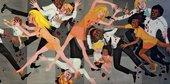Faith Ringgold,American People Series#20: Die,1967