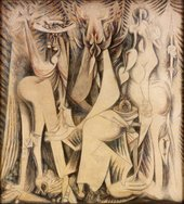 Wifredo Lam The Eternal Present (An Homage to Alejandro García Caturla) 1944 Museum of Art, Rhode Island School of Design (Providence, USA) © SDO Wifredo Lam