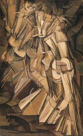 Marcel Duchamp Nude Descending a Staircase No.2 1912