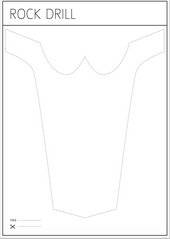 Mask template 1