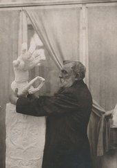 Photograph of Auguste Rodin