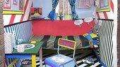 Lichtenstein inspired room