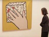Still image of the Roy Lichtenstein exhibition at Tate Modern in 2013