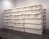 Rachel Whiteread Untitled (Book Corridors) 1998 © Rachel Whiteread