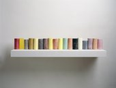 Rachel Whiteread Line Up 2007-2008 Gagosian Gallery © Rachel Whiteread