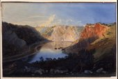 Samuel Jackson Avon Gorge at Sunsetc. 1825