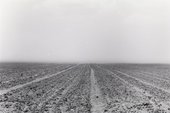 Santu Mofokeng, Dust Storms at Noon on the R34 Between Welkom and Hennenman, Free State I, 2007, printed 2011, from the series Climate Change, 2007, gelatin silver print on paper, 64 x 98 cm