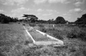 Santu Mofokeng, Fevriary 3 Mass-Grave, Mozambique, 2002, printed 2011, from the series Landscape and Memory, 1997–2011, gelatin silver print on paper, 38 x 58 cm
