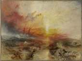 J.M.W. Turner's painting of a seascape and shipwreck