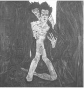 Self Seer by Egon Schiele