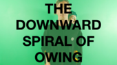 The downward spiral of owing