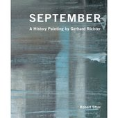 The cover of a book called September: A History Painting by Gerhard Richter