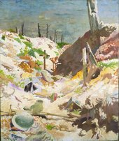 Sir William Orpen A Grave in a Trench 1917 Imperial War Museum (London, UK)