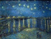 Vincent van Gogh Starry Night 1889 Museum of Modern Art