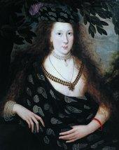 Fig.1 Robert Peake Lady Elizabeth Pope c.1615 Tate T00067