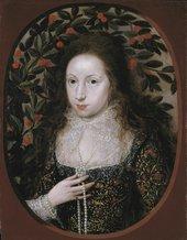 Fig.1 Robert Peake Lady Anne Pope c.1615 Tate T00068