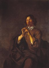 Fig.1 Sir Peter Lely  Man Playing a Pipe c.1648 Tate T00885
