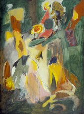 Fig.1 Arshile Gorky, The Waterfall 1943