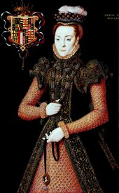 Hans Eworth active 1540–1573 Portrait of an Unknown Lady 1565–8 Oil paint on panel 998 x 619 mm T03896
