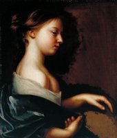 Fig.1 Mary Beale 1633‒1699 Portrait of a Young Girl c.1681 Oil paint on canvas 530 x 452 mm T06612