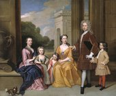 Fig.1 Godfrey Kneller 1646‒1723 The Harvey Family 1721 Oil paint on canvas 2348 x 2838 mm T07615