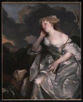 Gilbert Soest c.1605-1681 Portrait of a Lady as a Shepherdess c.1670 Oil paint on canvas 1244 x 1009 mm T14102