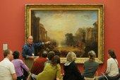 Turner guided tour at Tate Britain