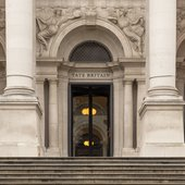 Entrance to Tate Britain.