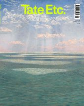 Cover of Tate Etc. issue 49 with seascape