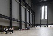 Image of Tate Intensive 2019 Participants in the Turbine Hall