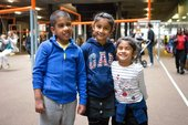 three kids at Tate