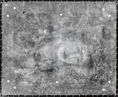 X-ray of one of Turner's landscape paintings