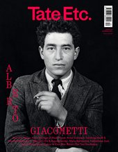 Tate etc. cover with Giacometti in a suit on the front