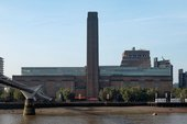 Tate Modern building seen from across the river Thames