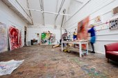 Tate St Ives artists-in-residence in their studios