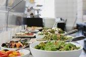 Salad Bar in the Tate Britain Members Room