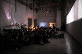 Tony Conrad, Fifty-One Years on the Infinite Plain 1972–2013, performance documentation, Live Arts Week II, Bologna 16 April 2013. Photo by Francesca Liccardi