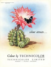 Technicolor advertisement published in Kinematograph Weekly, 29 October 1953 - Courtesy BFI and Palgrave