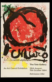 TG 106/112 Joan Miro (27 Aug -11 Oct 1964)