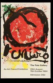 TG 106/112 Joan Miro (27 Aug -11 Oct 1964)