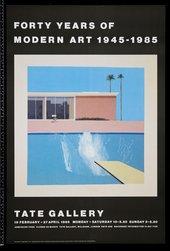 TG 106/260 Forty Years of Modern Art 1945-1985 (19 Feb -27 Apr 1986)