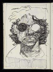 Sketchbook work by Donald Rodney