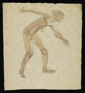 Felicia Browne Sketch of a nude figure