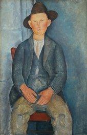 Amedeo Modigliani, The Little Peasant c. 1918