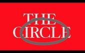 The words 'The Circle' circled against a red background.