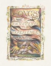 Title page of Songs of Innocence and of Experience Shewing the Two Contrary Sates of the Human Soul, 1794