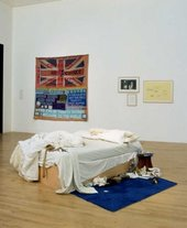 Tracey Emin My Bed 1999 Photo: Mark Heathcote, Tate Photography