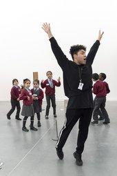 Travis Alabanza, schools workshop at Tate 2017
