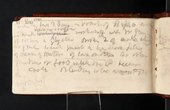 'Inscriptions by Turner' in Itinerary Rhine Tour sketchbook 1817, Tate D12545